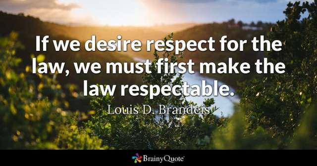 Respectati si legile proaste!