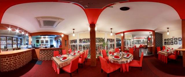 Restaurantul TAJ interior