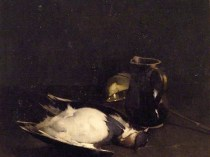 Emil Carlsen Still Life [with Bird, Jug, and Dipper], 1891