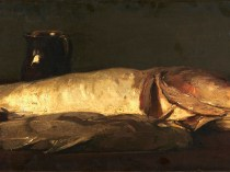 Emil Carlsen Still life with fish, 1893