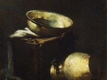 Emil Carlsen Still life With Pots And Copper (also called Still Life with Copper Pots and Black Fish), 1894