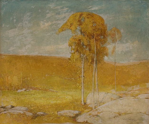 Emil Carlsen Late Fall Day at Windham, 1930