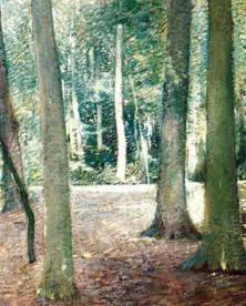 Emil Carlsen Forest Glade, c.1905