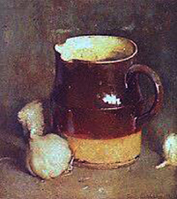 Emil Carlsen The Brown Jug (also called The Bean Pot), 1922