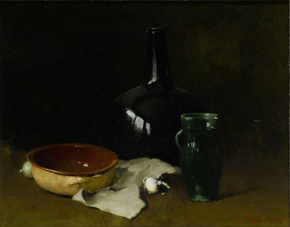 Emil Carlsen The green pitcher, 1905