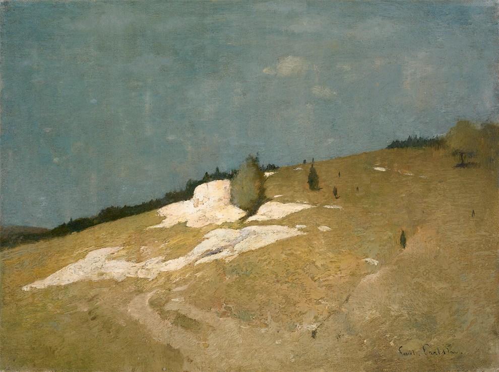 Emil Carlsen Foothills, c.1907