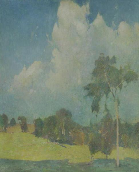 Emil Carlsen Landscape, 1907.