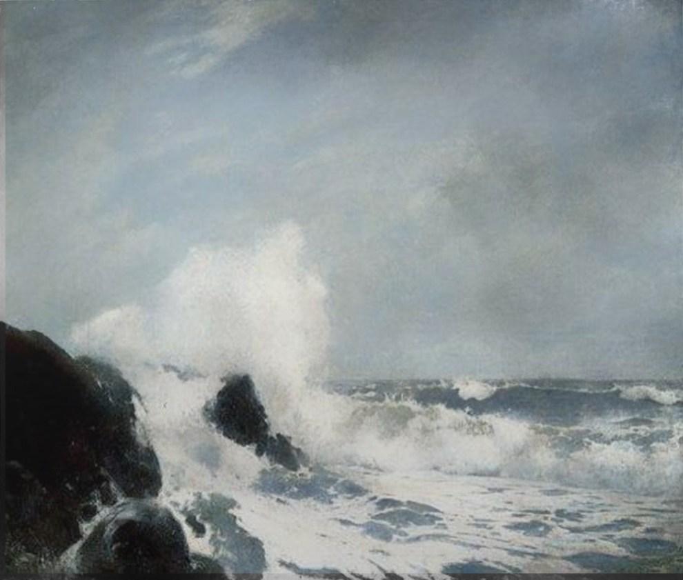 Emil Carlsen : Surf, 1907.