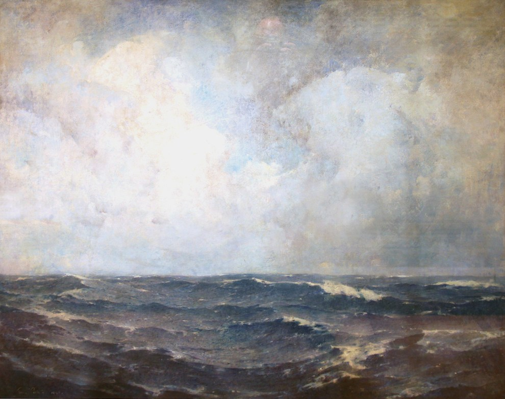 Emil Carlsen The Open Sea, 1909