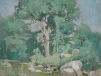 Emil Carlsen : Brook elm, ca.1906.