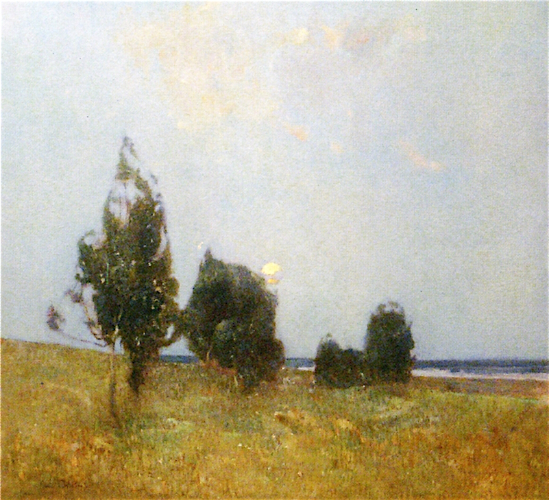 Emil Carlsen Early Moon Rise, ca.1912