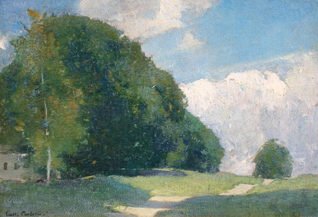 Emil Carlsen Country Road, ca.1910