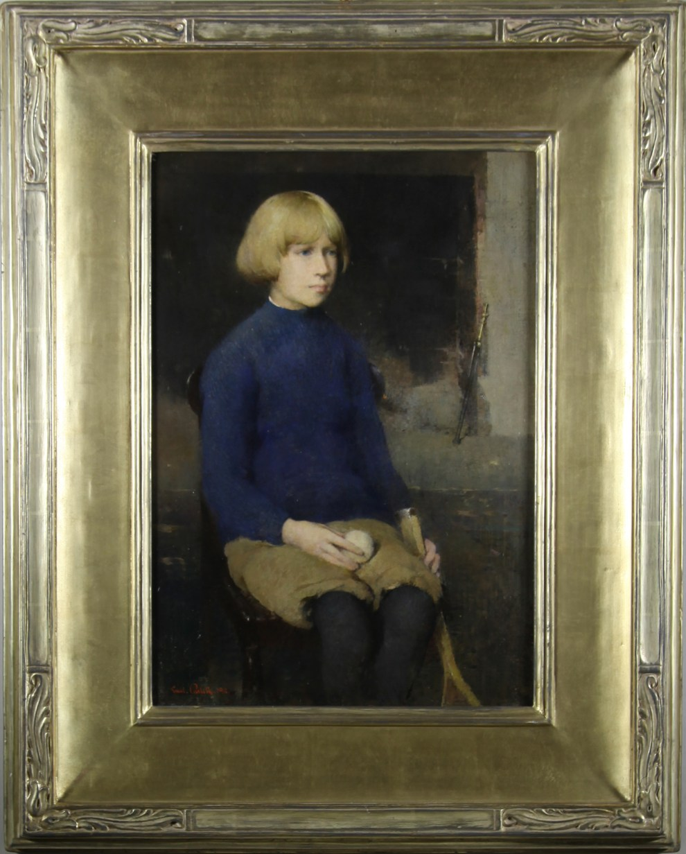 Dines Carlsen (also called Dines Carlsen at Ten & Dines Carlsen at 14 & Portrait of Dines No. 1), 1911 - Original Frame