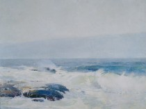 Emil Carlsen : Surf breaking, 1911.