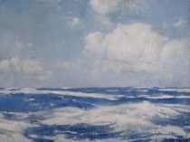 Emil Carlsen Open Sea, 1911