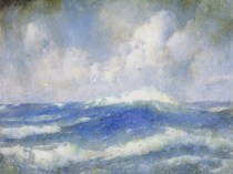 Emil Carlsen The Open Sea, ca.1919