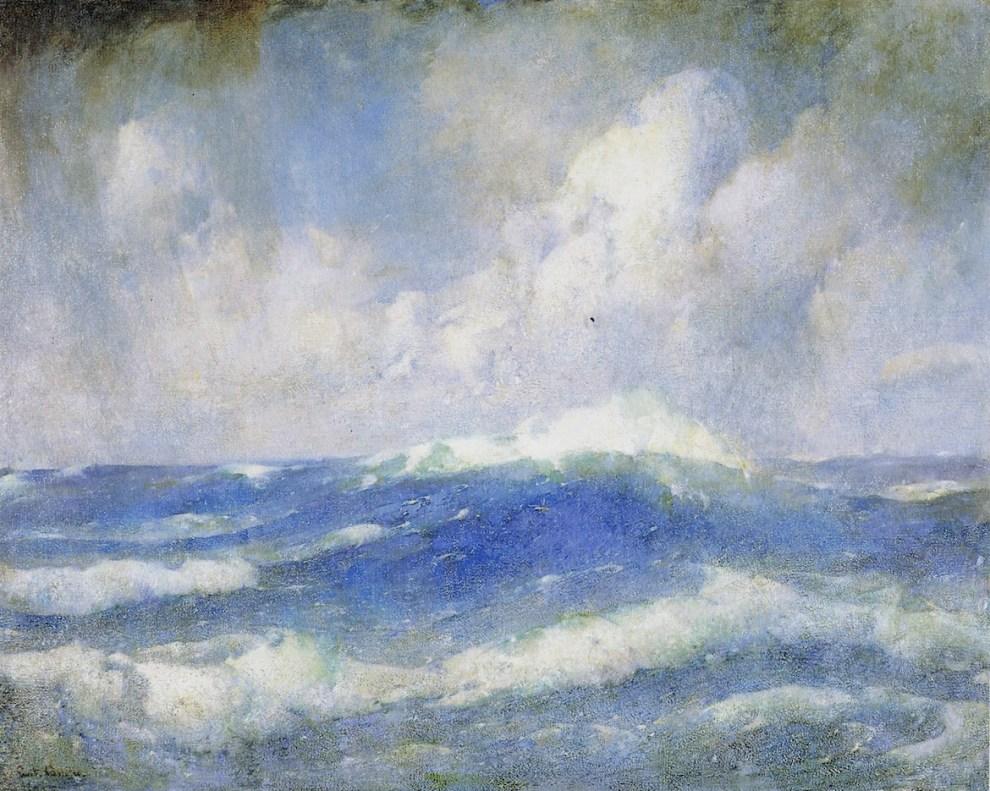 Emil Carlsen The Open Sea, ca.1919