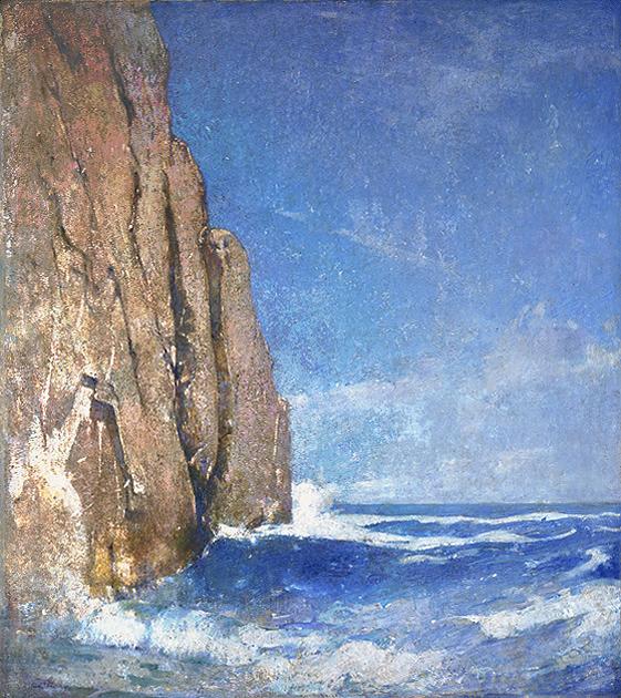 Emil Carlsen Baldhead Cliff, York, Maine, c.1914
