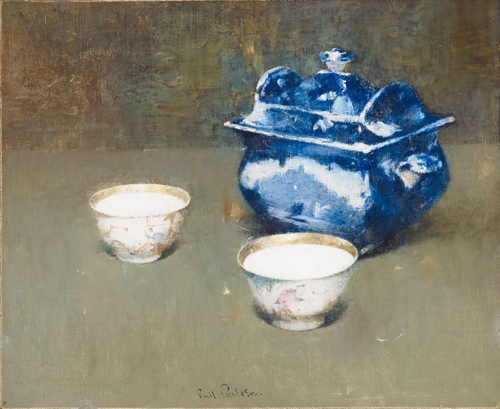 Emil Carlsen : Still life, ca.1913.