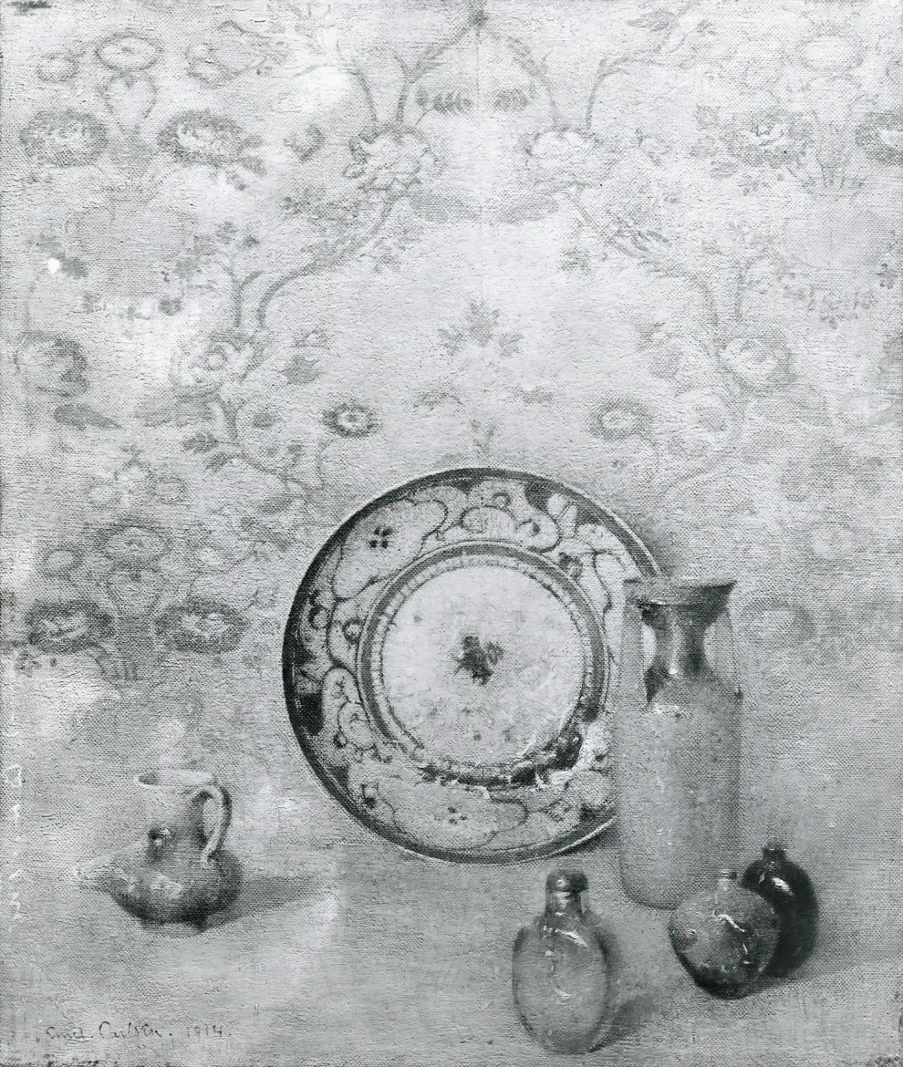 Emil Carlsen Still Life (also called The Chinese Plate), 1914