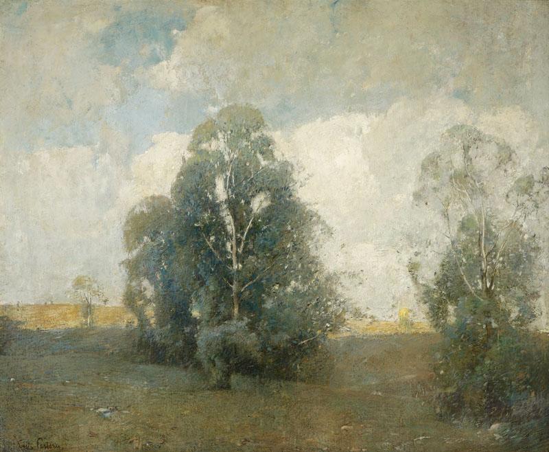 Emil Carlsen : Summer landscape, ca.1905.