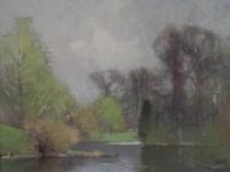 Emil Carlsen Lakescene (also called Spring Landscape), ca.1890