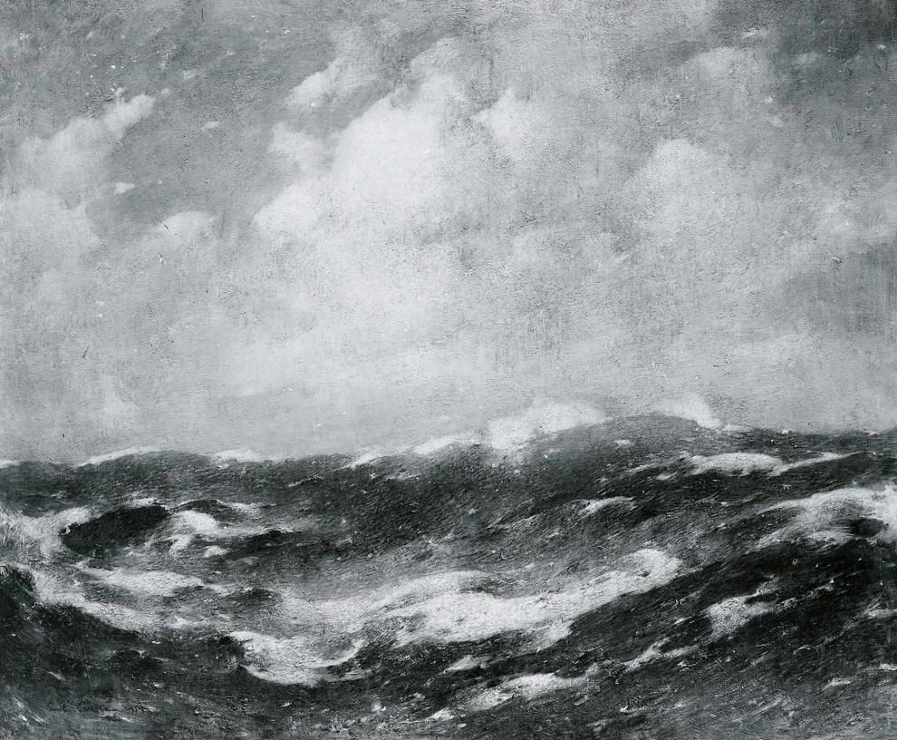 Emil Carlsen Open Sea, 1914