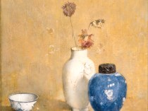 Emil Carlsen : Blue, white and gold, ca.1915.