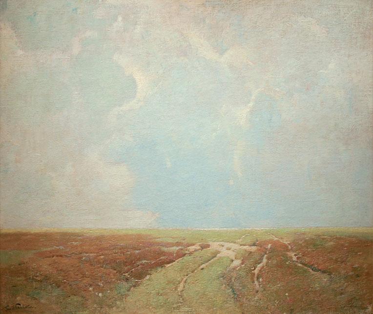 Emil Carlsen Marsh Landscape, c.1920