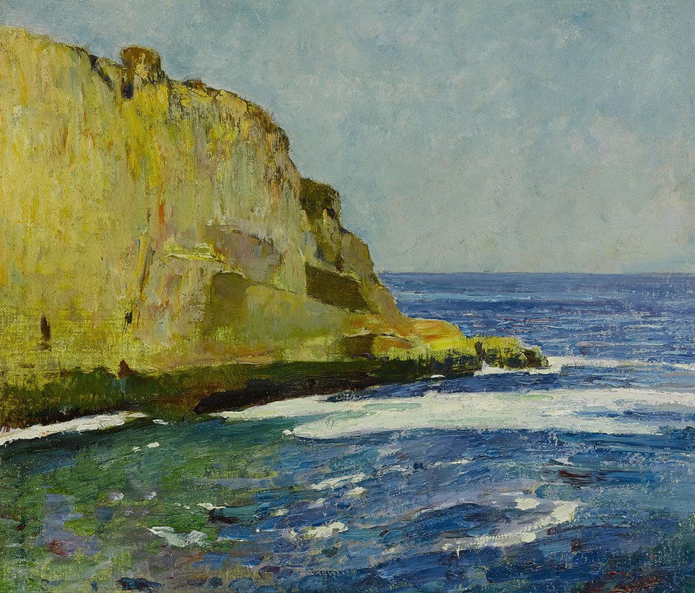 Emil Carlsen Bald Head Cliff, York, Maine, ca.1923