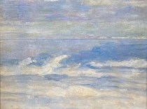Emil Carlsen : Waves ca.1923.