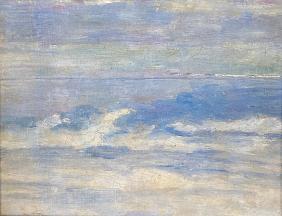 Emil Carlsen : Waves ca.1923.