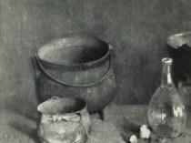 Emil Carlsen The Hearthstone, 1923