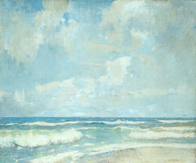 Emil Carlsen Opaline Sea, 1923