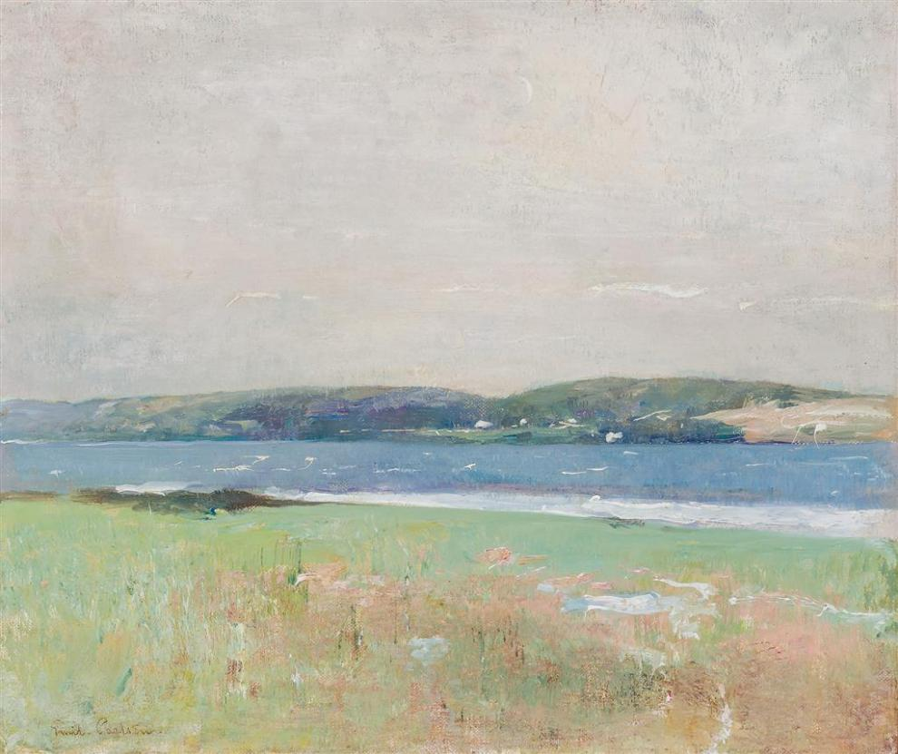 Emil Carlsen : By the shore, ca.1925.