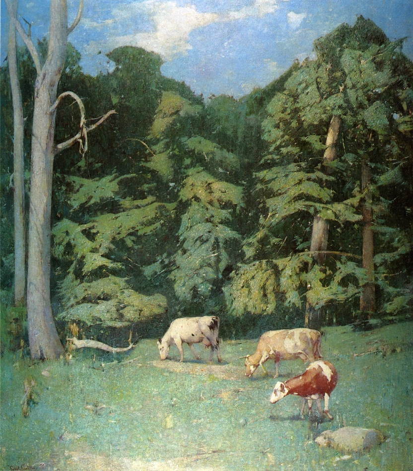 Emil Carlsen The Wood Pasture, 1930