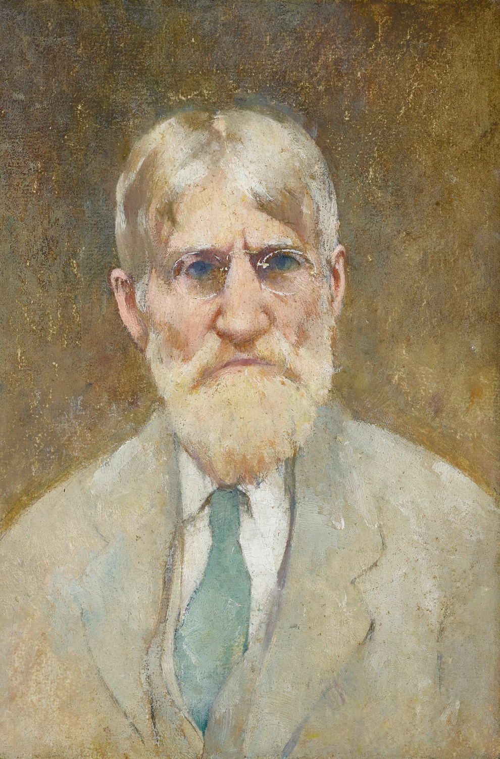 Emil Carlsen : Self-portrait, ca.1930.