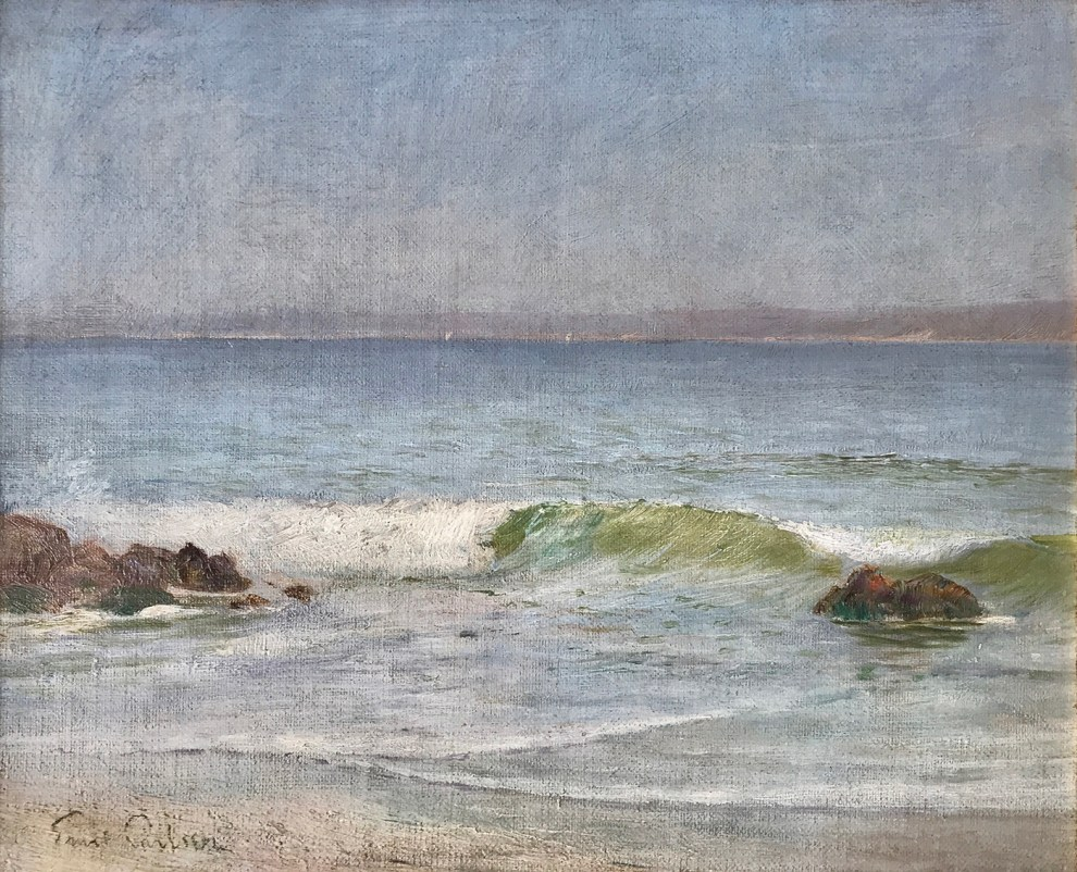 Emil Carlsen : Seascape, ca.1931.
