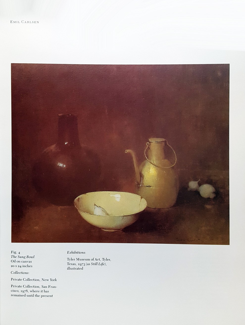 "1985 Coe Kerr Gallery, New York, NY, ""American impressionism : an exhibition and sale of paintings, watercolors, pastels and drawings, November 7 to December 7, 1985"", November 7 - December 7."