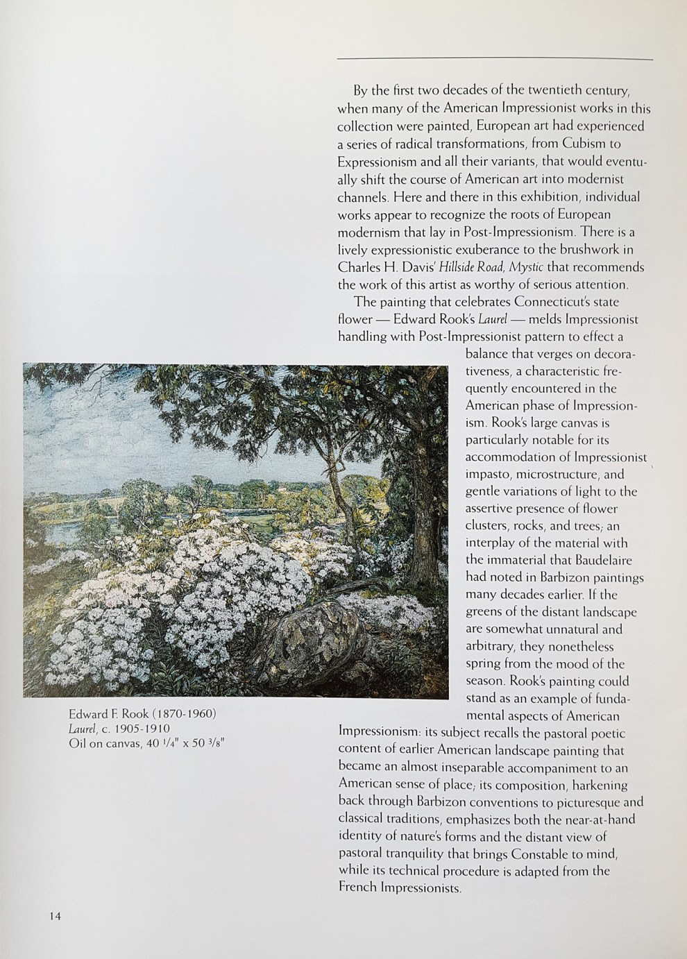 """1992 Polk Museum of Art, St, Lakeland, FL, """"Connecticut art and artists"""", February 1 – March 29."""