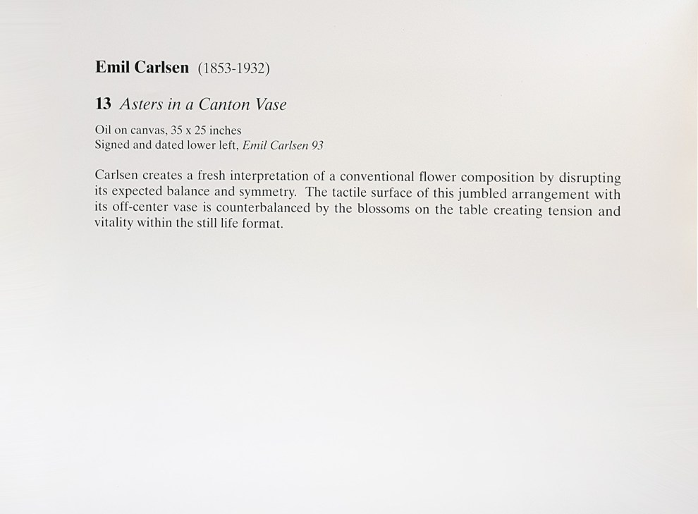 """1993 Thomas Colville Fine Arts, Guilford, CT, """"Painterly expressions"""", [unknown date]."""