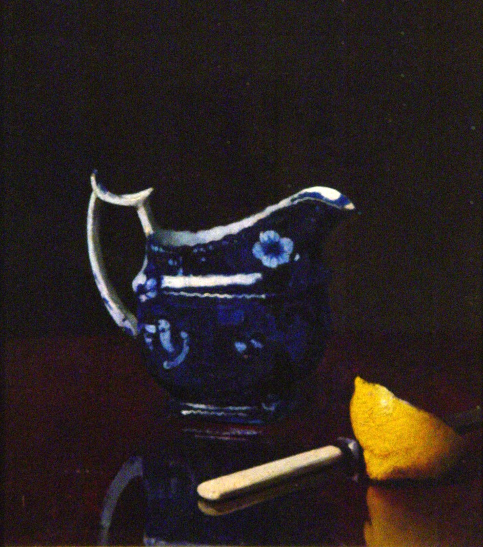 Emil Carlsen Still life [with creamer and lemon], ca.1899
