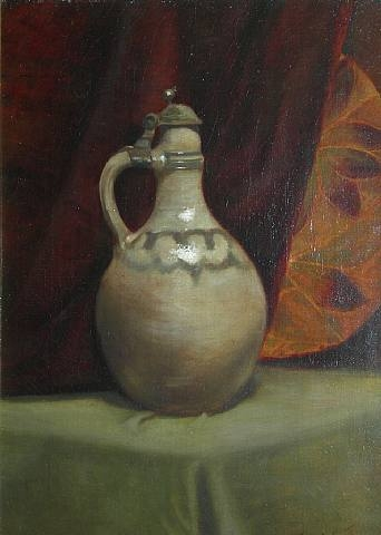 Emil Carlsen Still Life with Jug, ca.1889