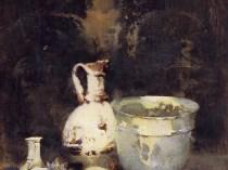 Emil Carlsen : Roman bowl, ca.1920.