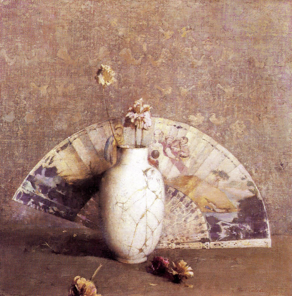 Emil Carlsen The Fan, c.1919