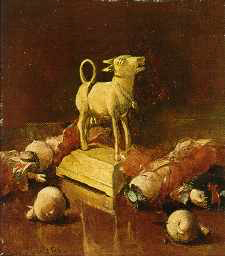 Emil Carlsen The Golden Calf, c.1892