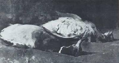 Emil Carlsen : Still life with dead fowl, ca.1897.