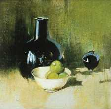 Emil Carlsen Still Life with Green Apple c.1931