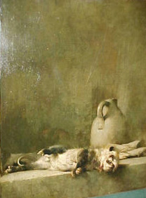 Emil Carlsen Still Life with Possum, c.1892