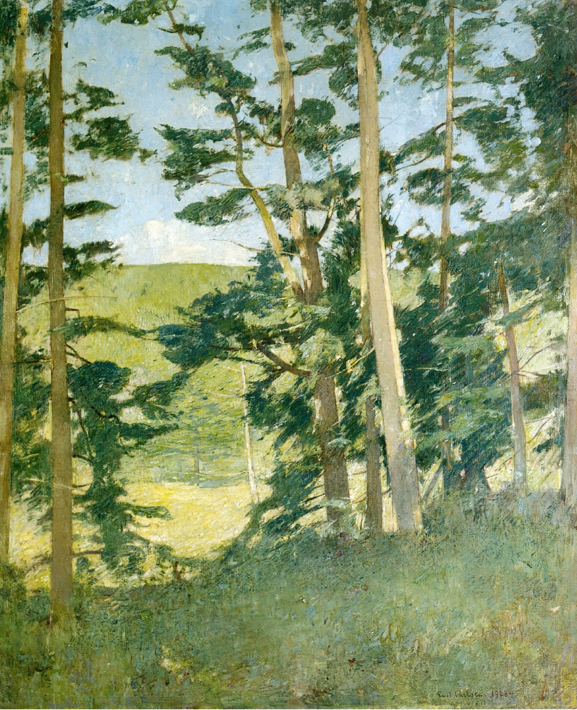 Emil Carlsen Clearing Beyond The Trees, 1928